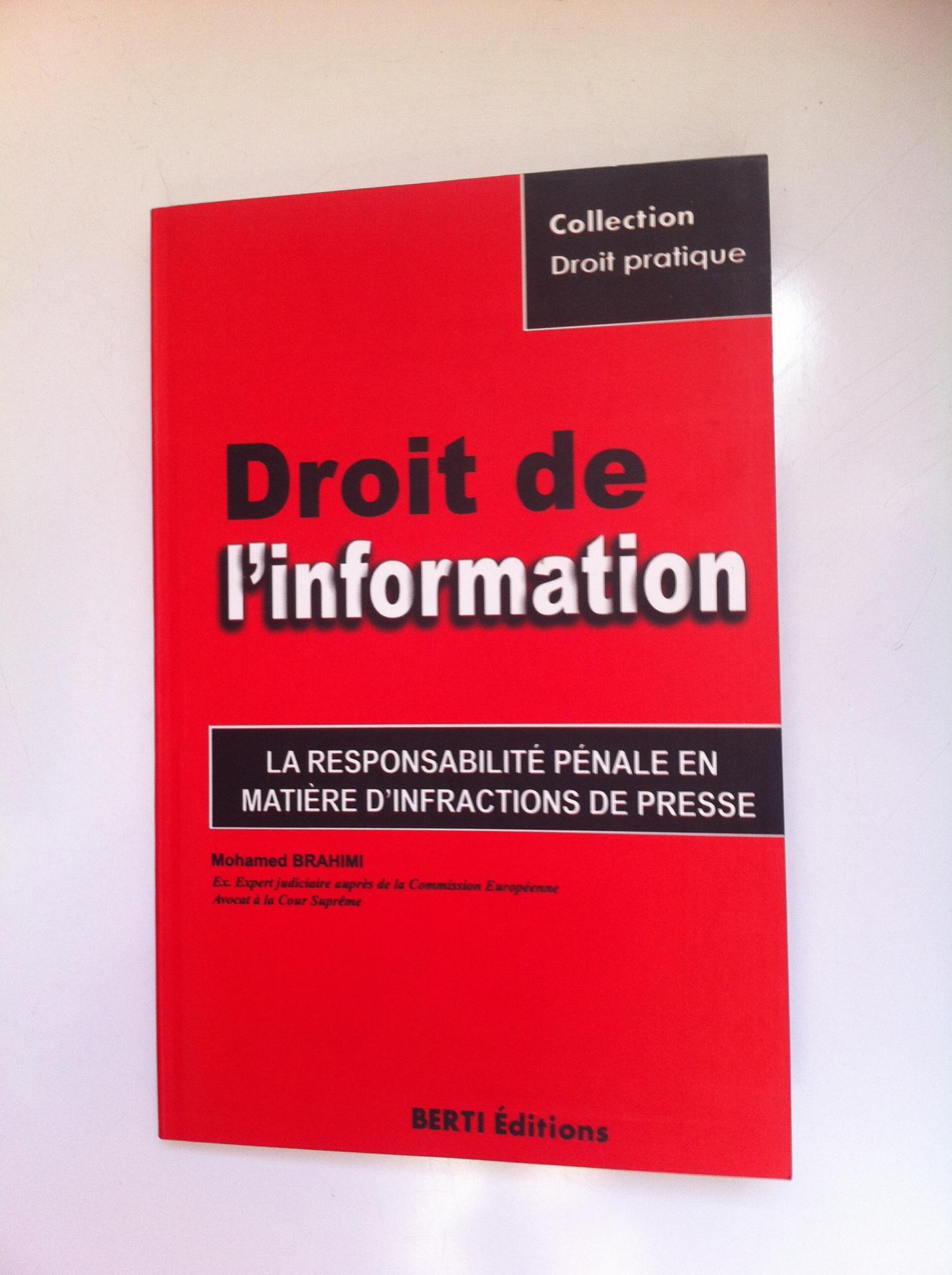 Droit de l information